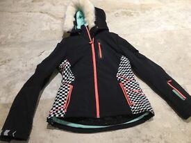 NEVER WORN Sweaty Betty ladies matching ski jacket and salopettes