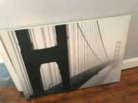 Free - Golden Gate Bridge Canvas