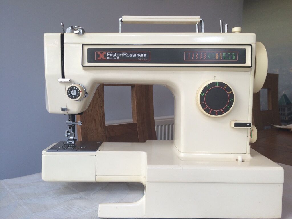 Electric Sewing Machine Frister Amp Rossmann Beaver 3 In