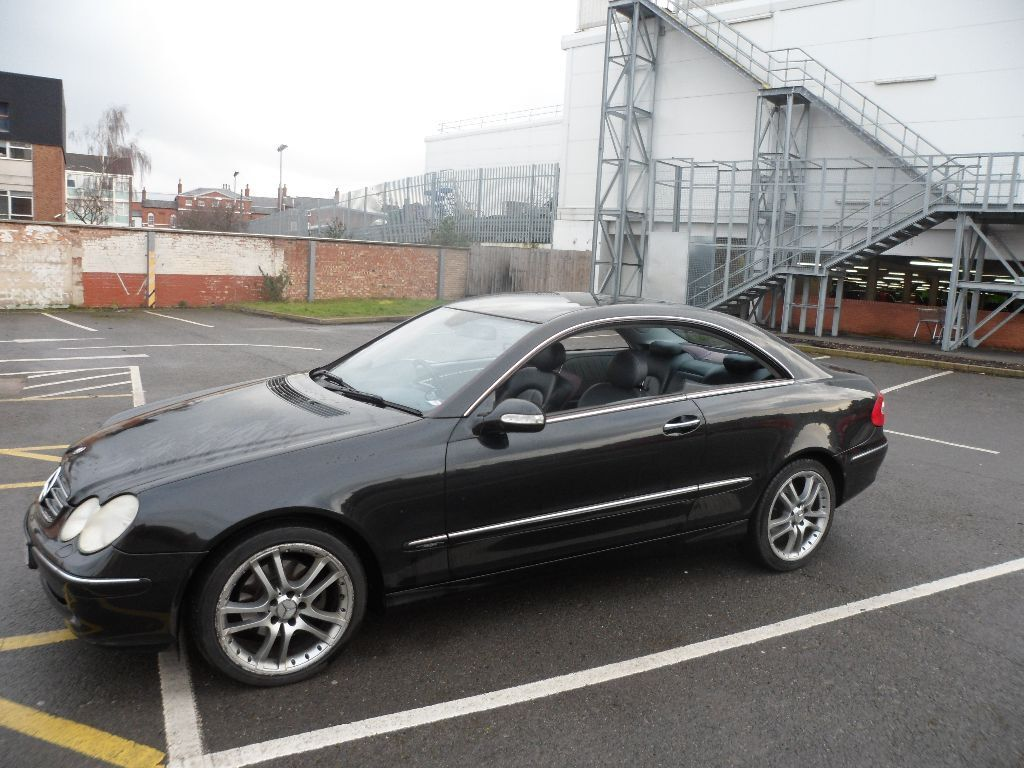 2005 mercedes clk 270 cdi avantgarde sat nav automatic just passed mot in newark. Black Bedroom Furniture Sets. Home Design Ideas