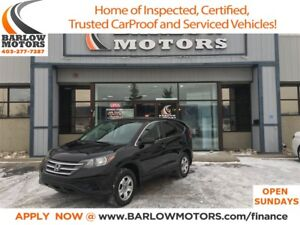 2014 Honda CR-V LX|4wd|Inspected|Low Mileage|Back up Camera