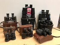 Collection Of Cased binoculars.