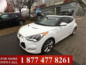 2014 Hyundai Veloster w/Tech, Navigation, Sunroof