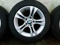 BMW STYLE 268 ALLOY WHEELS FALKEN RUN FLAT 205 55 16 (6780907)
