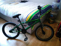 Kids Green BMX Style Bike GC