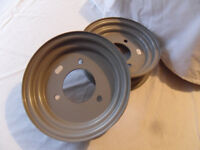 Trailer (light trailer) steel Wheels / Rims - 2 x 8 inch x 2 1/2J - 3 stud 110mm PCD