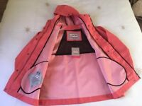 Genuine Hunter designer rubber rain coat - brand new with tags