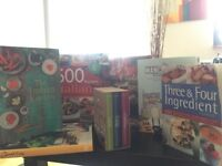 Brilliant cooking books - £12 for the lot