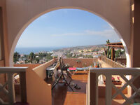 Apartment,San Eugenio alto Tenerife,v large furnished,1bed,bathroom,American kitchen,amazing views