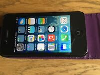 Apple iPhone 4 8gb Black. Excellent Condition. Locked to Vodaphone and TalkTalk