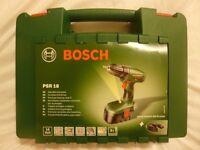 NEW Bosch PSR 18 Cordless Drill/Driver New ( non hammer ) 18 volt
