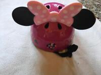 Helmet pink mike mouse used good condition £4