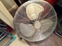 Floor power fan