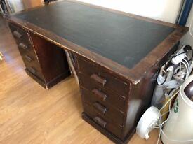 Large Edwardian Desk