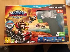 Wii U Skylanders Superchargers Starter Pack VGC