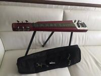 Jagard lap steel guitar with stand + tone bar+case