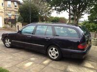 Mercedes E240 Elegance Automatic Estate 2001/Y