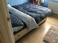 Double bed & mattress - bargain £50