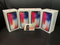 APPLE IPHONE X 256GB UNLOCKED BRAND NEW COMES WITH APPLE WARRANTY & RECEIPT