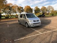 VW Campervan T5 - immaculate - silver - recently refitted