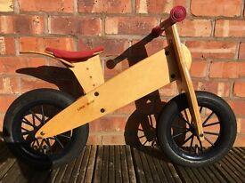 Original KOKUA LIKEaBIKE Spoky Wooden Balance Bike for 2+ years old £164.95 New
