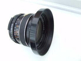"Prinzflex "" Auto Aperture"" Reflex 1:2.8 28mm Lens M42 Screw Mount SLR or DSLR Camera"