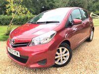 2013 Toyota Yaris *Watch YouTube Video* 23k Low Miles Full Toyota Service History *Toyota Warranty*