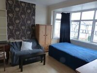 A lovely double room situated in Wembley. Single person only.