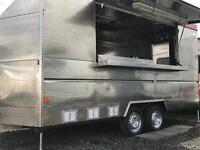 Fish & Chip Catering trailer with new gas cert