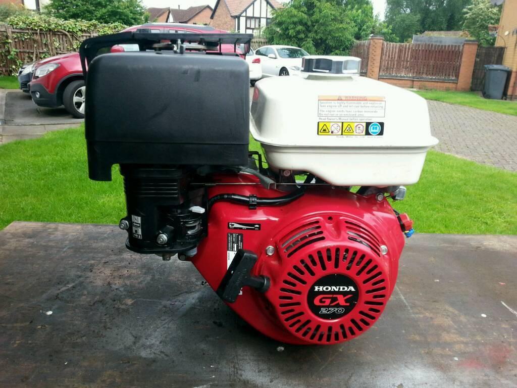 Honda GX270 petro engine