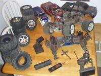 TMaxx R/C truck and parts