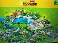 Legoland Tickets x 4 (Friday 20th July 2018)