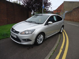 2009 FORD FOCUS ZETEC S 115 TOP CONDITION PERFECT RUNNER 12 M MOT AND 3 MONTHS NATIOWIDE WARRANTY