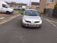 Automatic 2005 Nissan Micra 1.2 petrol 5 doors 2005 in good condition silver excellent