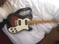 Brand new hollow Fender Telecaster for sale (Fender bag and Fender strap inc.)