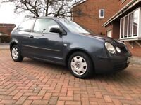 VW Polo S 1.4 low mileage, low owners, great runner