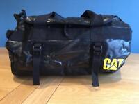 Waterproof Black CAT duffle / holdall