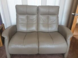 italian leather suite. 3 seater, 2 seater and single
