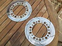 Honda Magna 1100 front discs rotors