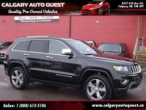 2016 Jeep Grand Cherokee Limited 4WD/BACK UP CAM/LEATHER/SUNROOF