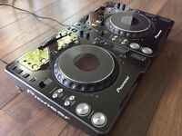 2 x Pioneer CDJ 1000 MK2 CDJs - Can Post with UPS, and accept PayPal