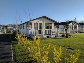 **2013 Omar Westfield Lodge** Stunning Holiday Home, Static Caravan Lodge for Sale