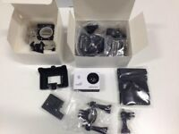 ( Nearly New ) DBPOWER 1080P Waterproof Action Camera DV 12MP HD Camcorder (with WIFI) + Accessories