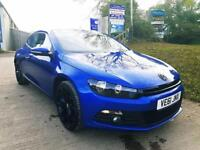VOLKSWAGEN SCIROCCO 2.0 GT TDI BLUEMOTION TECHNOLOGY 2d 140 BHP (blue) 2011
