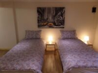 Large Basement 1 Bed Serviced Apartment - Short Term , Holiday Lets , Corporate Lets - £250 per week