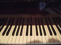 Reid-Sohn Mahogany Baby Grand Piano For Sale Excellent Condition