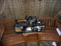 MCCULLOCH BATTERY CHAINSAW WITH QUICK CHARGER AND BATTERY