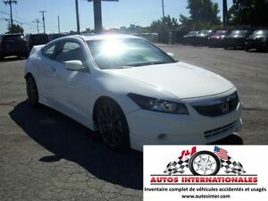 2012 Honda Accord EX L COUPE V6 MAG SROOF GR ELECT CUIR SIEGE CH