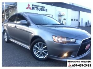 2015 Mitsubishi Lancer SE LTD; Local BC vehicle! Certified Pre-o