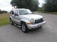 2005 55 JEEP CHEROKEE 2.8 TD AUTO SPORT 4X4 5 DOOR CALL 07791629657